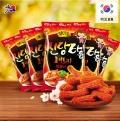 【食新食异】韩国进口膨化零食品 九日海太 始祖炒年糕条110g/袋 香脆甜辣