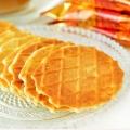 【食新食异】韩国进口零食 LOTTE乐天奶油鸡蛋煎饼瓦夫饼干华夫饼40g奶香薄饼营养早餐