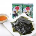 【食新食异】九日牌海苔韩国式进口零食儿童食品原味烧低盐烤紫菜即食海苔40包