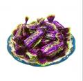 【食新食异】进口俄罗斯紫皮糖果巧克力kpokaht紫皮糖果婚庆喜糖女神零食500g