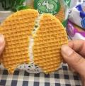 【食新食异】俄罗斯进口威化开心牛拉丝饼干蜂蜜夹心饼干奶油炼乳奶酪150g饼干